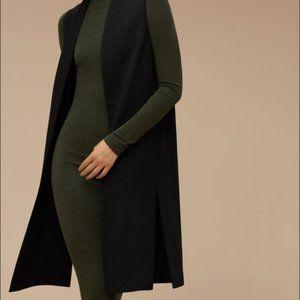 Aritza Wilfred long vest
